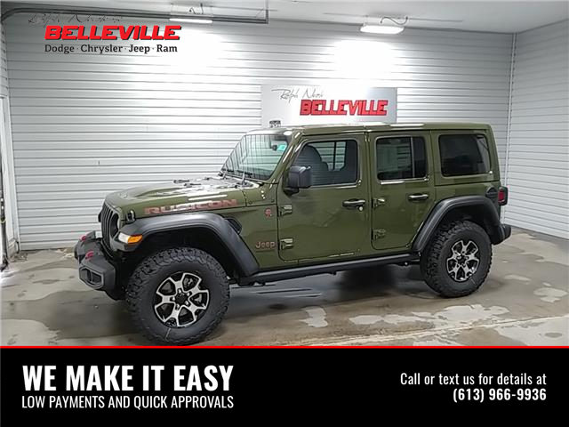 2021 Jeep Wrangler Unlimited Rubicon (Stk: 1349) in Belleville - Image 1 of 10