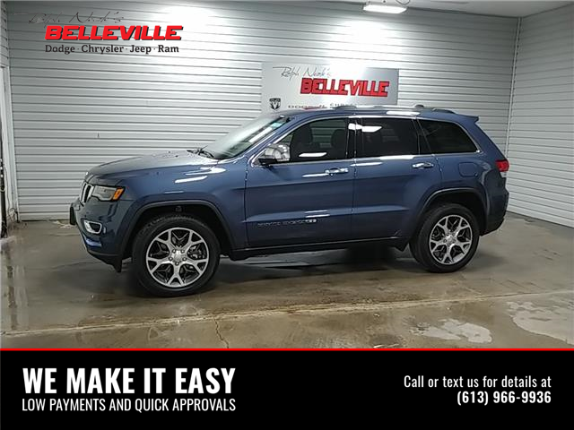 2021 Jeep Grand Cherokee Limited (Stk: 1352) in Belleville - Image 1 of 12