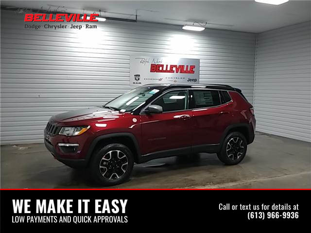 2021 Jeep Compass Trailhawk (Stk: 1340) in Belleville - Image 1 of 9