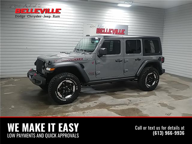 2021 Jeep Wrangler Unlimited Rubicon (Stk: 1380) in Belleville - Image 1 of 10