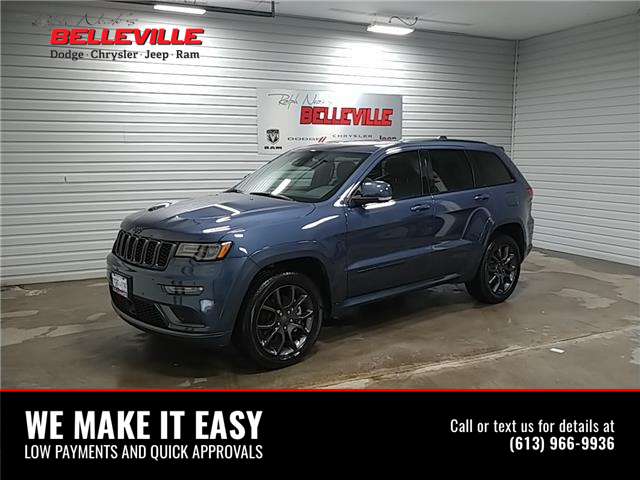 2021 Jeep Grand Cherokee Overland (Stk: 1177D) in Belleville - Image 1 of 11