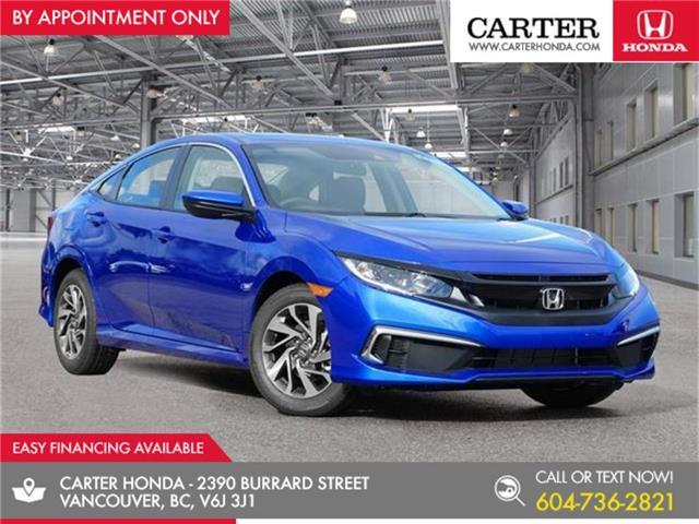2020 Honda Civic EX (Stk: 3L94050) in Vancouver - Image 1 of 24