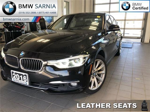 2016 BMW 3 Series 328i xDrive (Stk: BU726) in Sarnia - Image 1 of 16