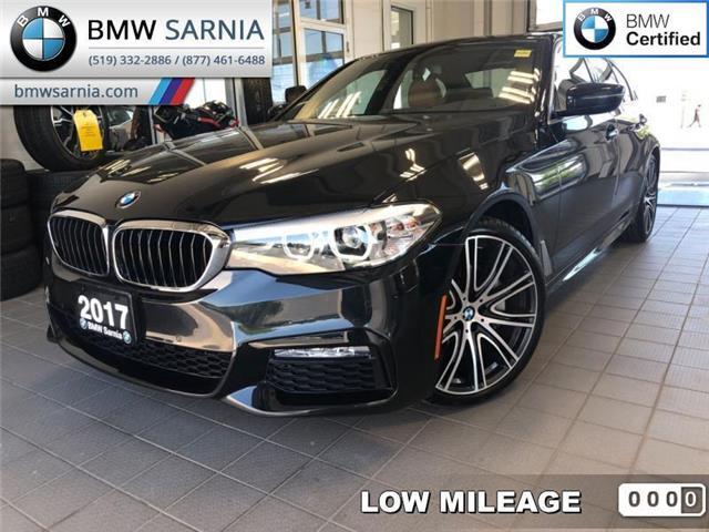 2017 BMW 5 Series 540i xDrive AWD (Stk: BU730) in Sarnia - Image 1 of 18