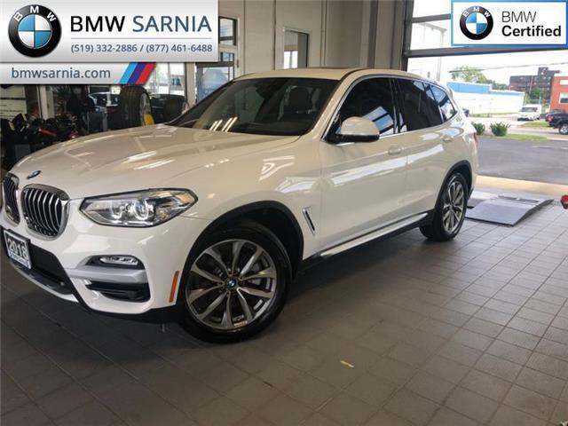 2018 BMW X3 xDrive30i (Stk: XU311) in Sarnia - Image 1 of 18