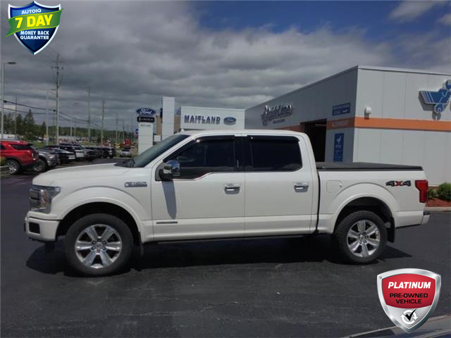 2018 Ford F-150 Platinum (Stk: 94144) in Sault Ste. Marie - Image 1 of 10