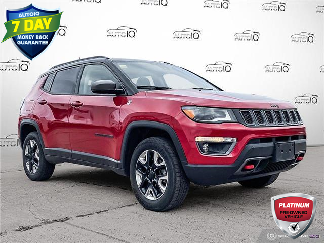 2018 Jeep Compass Trailhawk (Stk: BD030A) in Sault Ste. Marie - Image 1 of 22