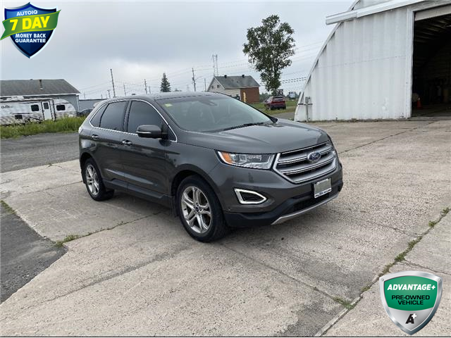 2017 Ford Edge Titanium (Stk: 94362) in Sault Ste. Marie - Image 1 of 8
