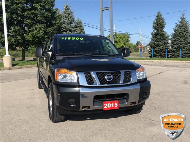 2015 Nissan Titan SV (Stk: L242A) in Grimsby - Image 1 of 13