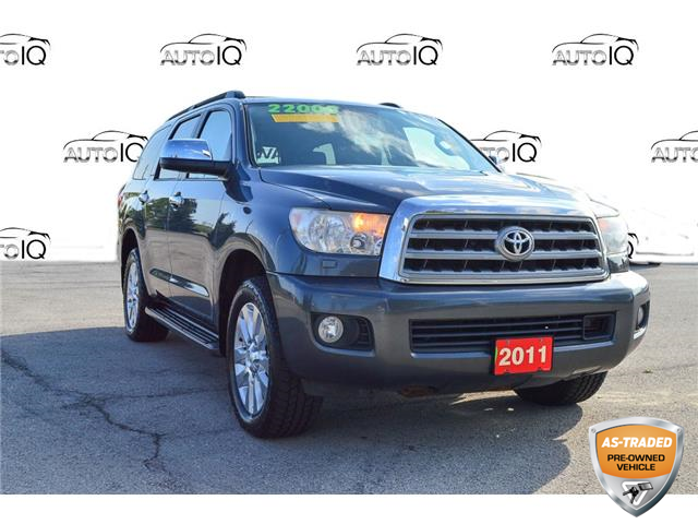 2011 Toyota Sequoia Platinum 5.7L V8 (Stk: M239A) in Grimsby - Image 1 of 22