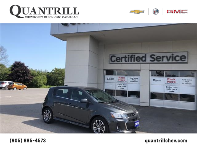 2018 Chevrolet Sonic LT Auto (Stk: 101110) in Port Hope - Image 1 of 14