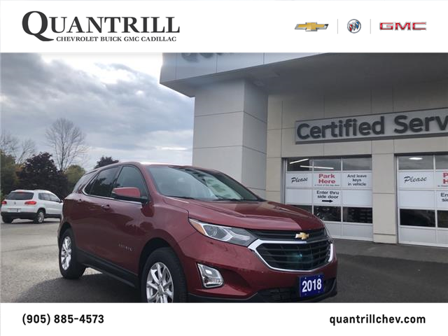 2018 Chevrolet Equinox LT (Stk: 258521) in Port Hope - Image 1 of 17