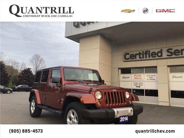 2014 Jeep Wrangler Unlimited Sahara (Stk: 20885A) in Port Hope - Image 1 of 17