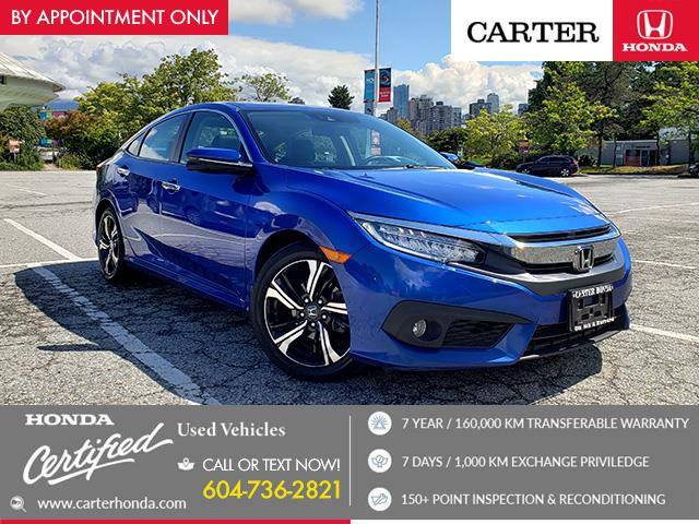 2016 Honda Civic Touring (Stk: B86810) in Vancouver - Image 1 of 24
