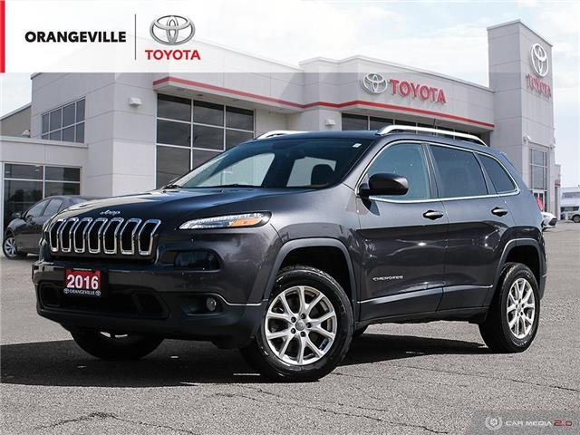 2016 Jeep Cherokee North (Stk: H20701B) in Orangeville - Image 1 of 28