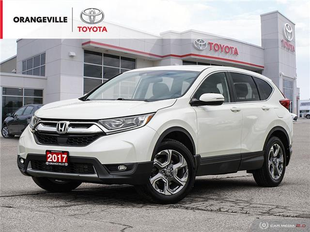 2017 Honda CR-V EX (Stk: H20568A) in Orangeville - Image 1 of 28