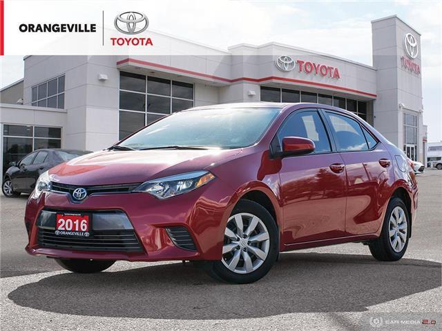 2016 Toyota Corolla LE (Stk: HU4988) in Orangeville - Image 1 of 23