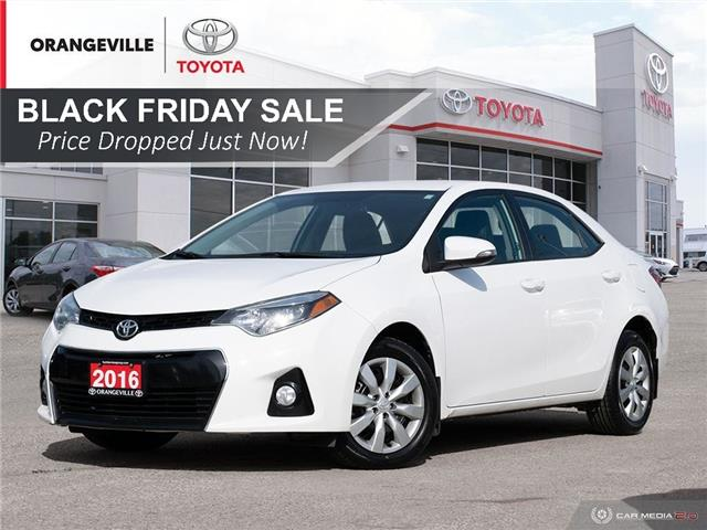 2016 Toyota Corolla S (Stk: H20720A) in Orangeville - Image 1 of 27