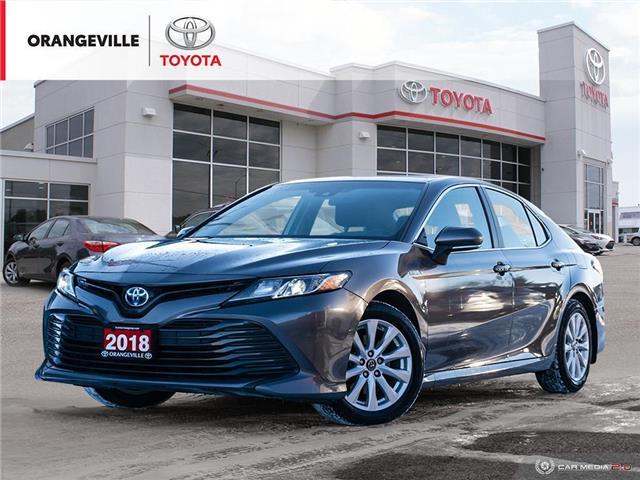 2018 Toyota Camry Hybrid LE (Stk: 21186B) in Orangeville - Image 1 of 27