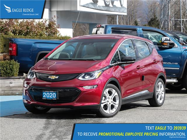 2020 Chevrolet Bolt EV LT (Stk: 02335A) in Coquitlam - Image 1 of 16