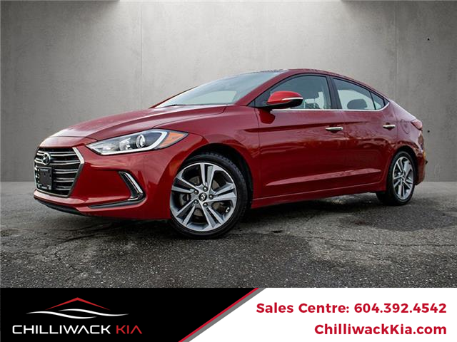 2017 Hyundai Elantra Limited (Stk: K16-4011C) in Chilliwack - Image 1 of 19