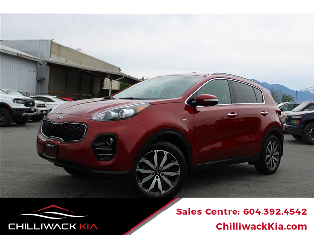 2018 Kia Sportage EX (Stk: K19-8917A) in Chilliwack - Image 1 of 15
