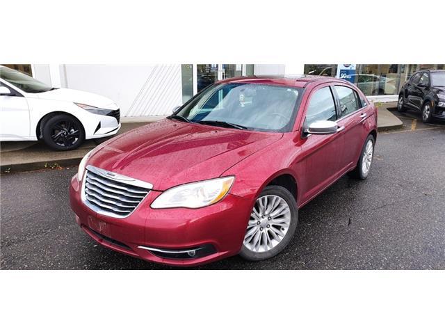 2011 Chrysler 200 Limited (Stk: HA7-2559B) in Chilliwack - Image 1 of 11