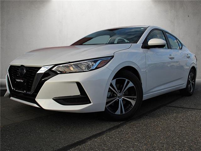 2021 Nissan Sentra SV (Stk: N212-8256) in Chilliwack - Image 1 of 10