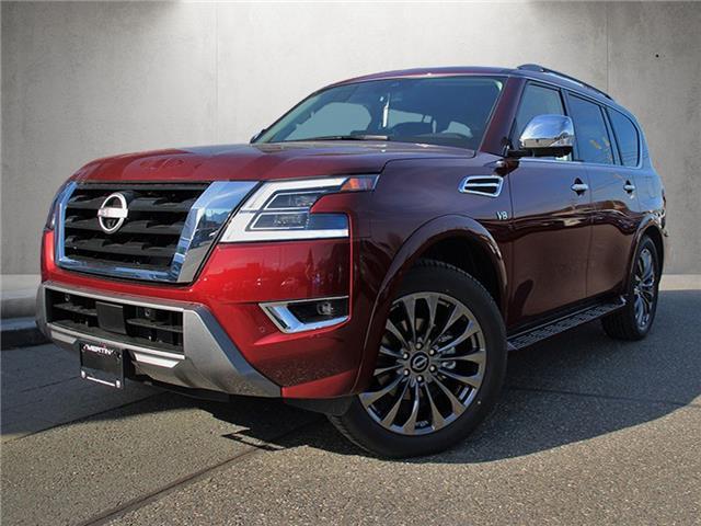 2021 Nissan Armada Platinum (Stk: N216-2159) in Chilliwack - Image 1 of 10