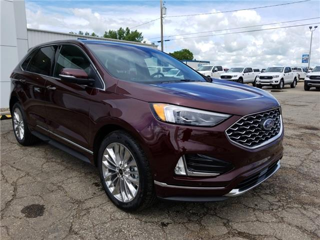2020 Ford Edge Titanium (Stk: 20173) in Wilkie - Image 1 of 28