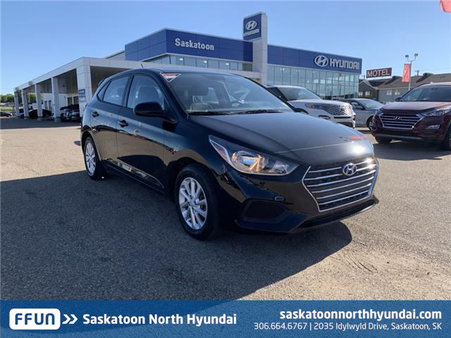 2019 Hyundai Accent Preferred 3KPC25A3XKE079359 B7638 in Saskatoon