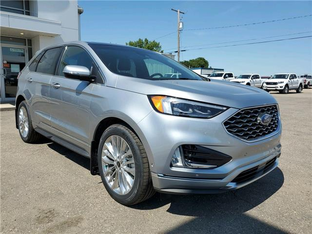 2020 Ford Edge Titanium (Stk: 20174) in Wilkie - Image 1 of 25