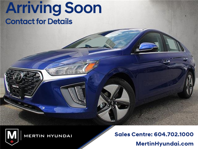 2021 Hyundai Ioniq Hybrid Ultimate (Stk: HB5-9922) in Chilliwack - Image 1 of 10