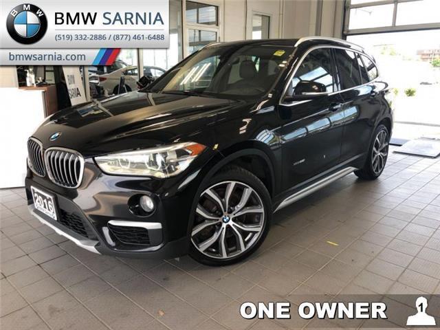 2016 BMW X1 xDrive28i (Stk: XU258) in Sarnia - Image 1 of 12