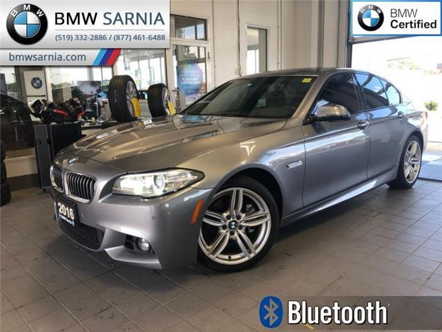 2016 BMW 5 Series 528i xDrive AWD (Stk: BU735) in Sarnia - Image 1 of 19