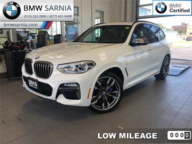 2019 BMW X3 M40i Sports Activity Vehicle (Stk: XU297) in Sarnia - Image 1 of 19