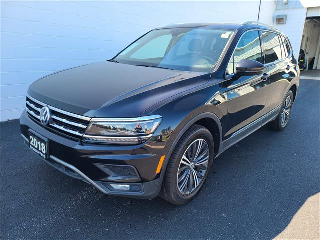 2018 Volkswagen Tiguan Highline (Stk: VU1018) in Sarnia - Image 1 of 17