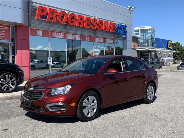 2016 Chevrolet Cruze Limited 1LT (Stk: G7212907T) in Sarnia - Image 1 of 25