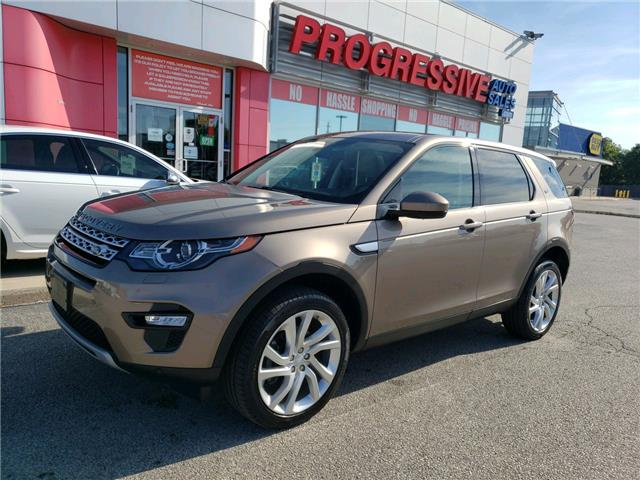 2016 Land Rover Discovery Sport HSE (Stk: GH586306) in Sarnia - Image 1 of 35