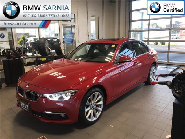 2017 BMW 330i xDrive (Stk: BU749) in Sarnia - Image 1 of 10