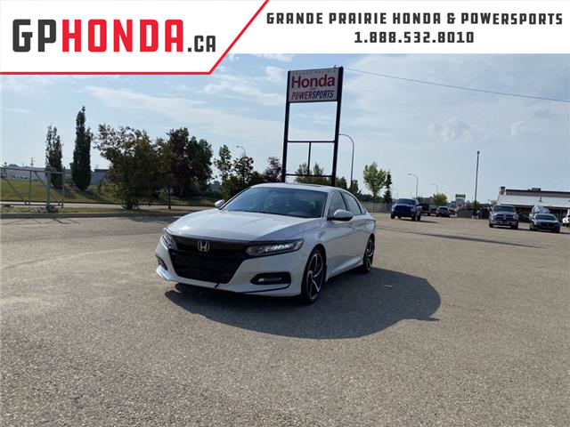 2018 Honda Accord Sport (Stk: 18-036) in Grande Prairie - Image 1 of 13