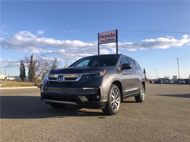 2021 Honda Pilot EX-L Navi (Stk: H16-1532) in Grande Prairie - Image 1 of 16