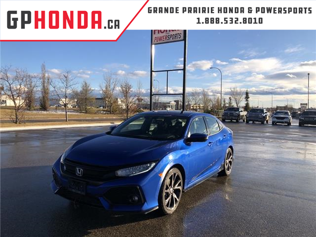 2018 Honda Civic Sport Touring (Stk: 20-051B) in Grande Prairie - Image 1 of 21