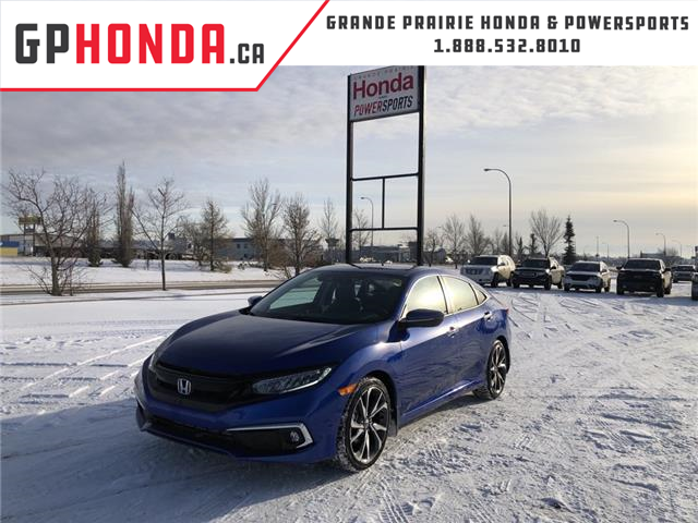 2020 Honda Civic Touring (Stk: 20-151) in Grande Prairie - Image 1 of 25