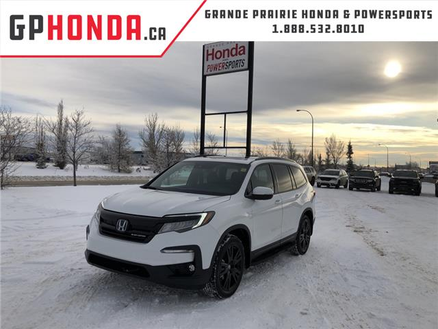 2021 Honda Pilot Black Edition (Stk: H16-3610) in Grande Prairie - Image 1 of 26