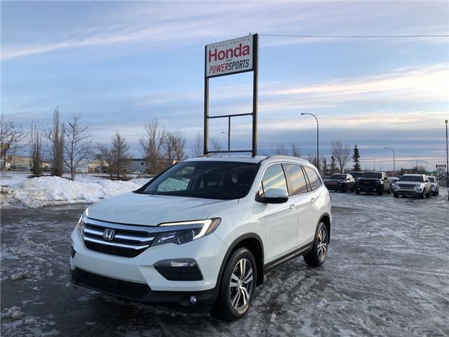 2018 Honda Pilot EX-L Navi (Stk: H16-4076A) in Grande Prairie - Image 1 of 25