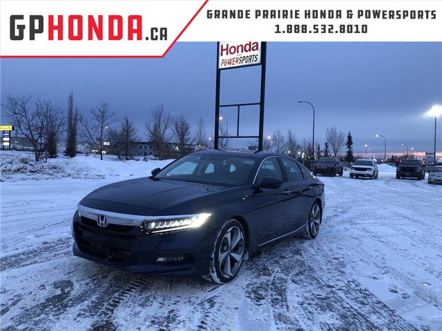 2018 Honda Accord Touring (Stk: H14-0084A) in Grande Prairie - Image 1 of 26