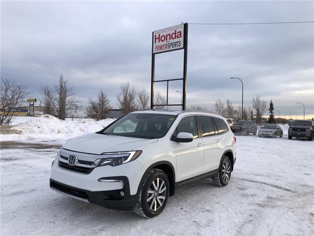 2021 Honda Pilot EX-L Navi (Stk: H16-5142) in Grande Prairie - Image 1 of 27