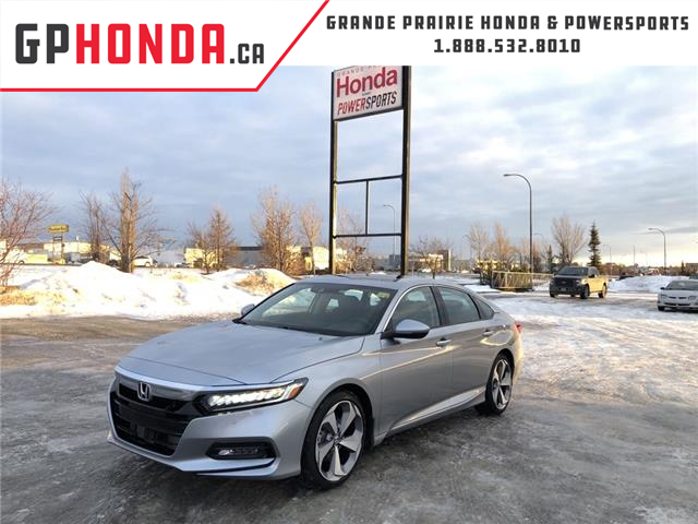 2020 Honda Accord Touring 1.5T (Stk: 20-010) in Grande Prairie - Image 1 of 28