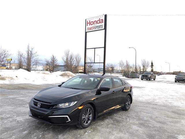 2020 Honda Civic EX (Stk: 20-148) in Grande Prairie - Image 1 of 27
